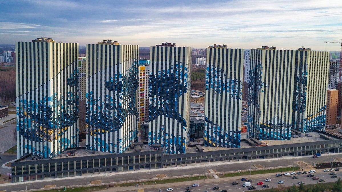 """Hokusajev """"Veliki talas"""" osvanuo na fasadama moskovskih zgrada"""