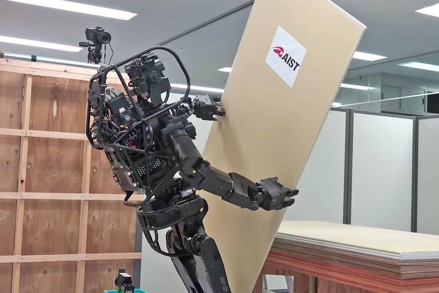 Japanski robot-gipsar pravi zidove preciznije od čoveka