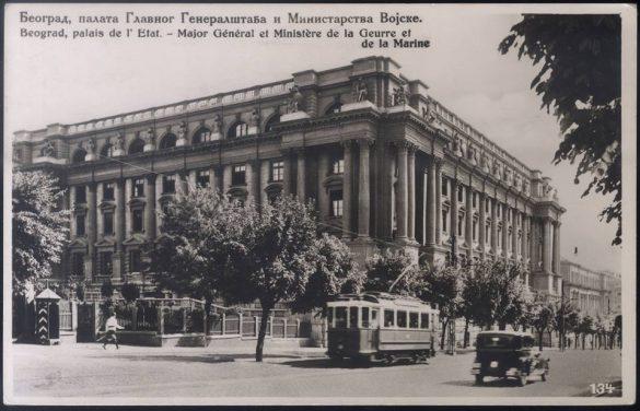 Zgrada generalštaba, arh. Vasilij Baumgarten