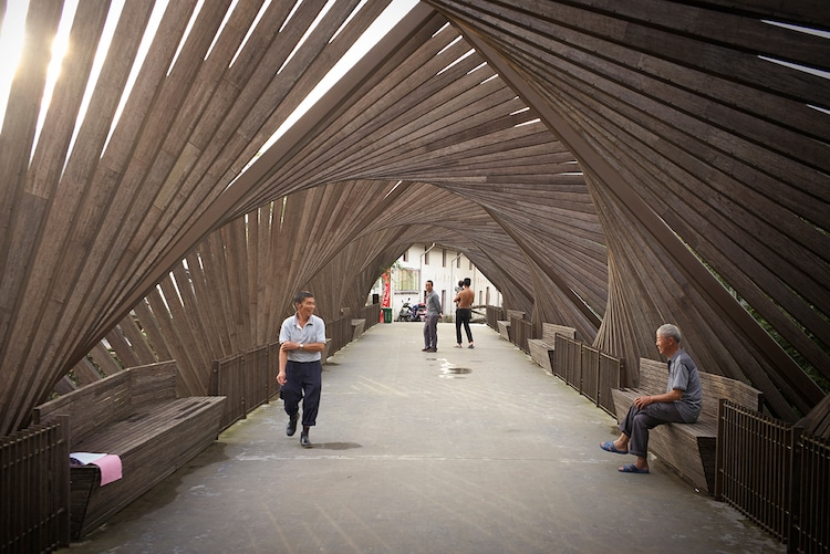 Most od bambusa: Ge Quantao.