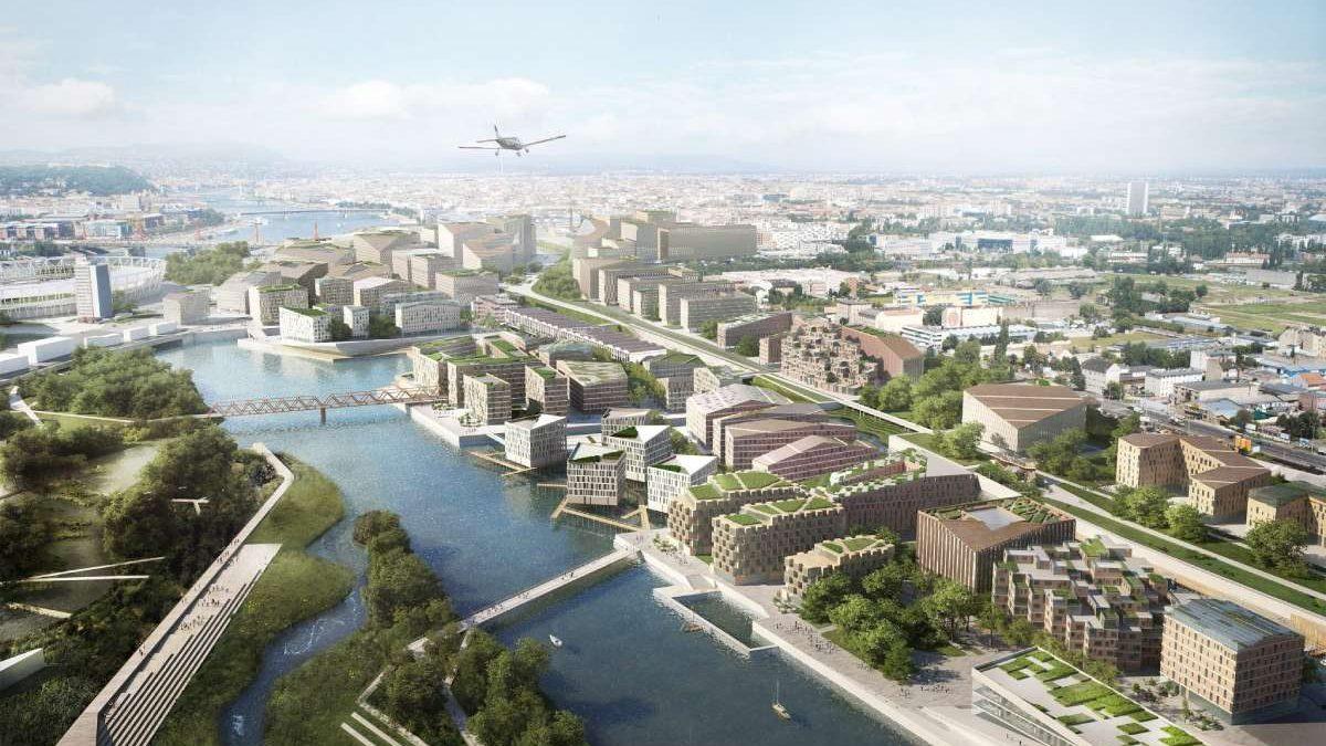 Budimpešta kopa kanal na Dunavu za pravljenje novog poluostrva
