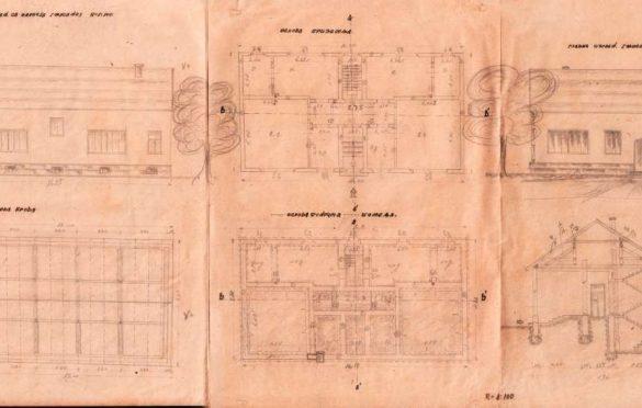 Učiteljski dom u Šapcu; Izvor: Međuopštinski istorijski arhiv Šabac