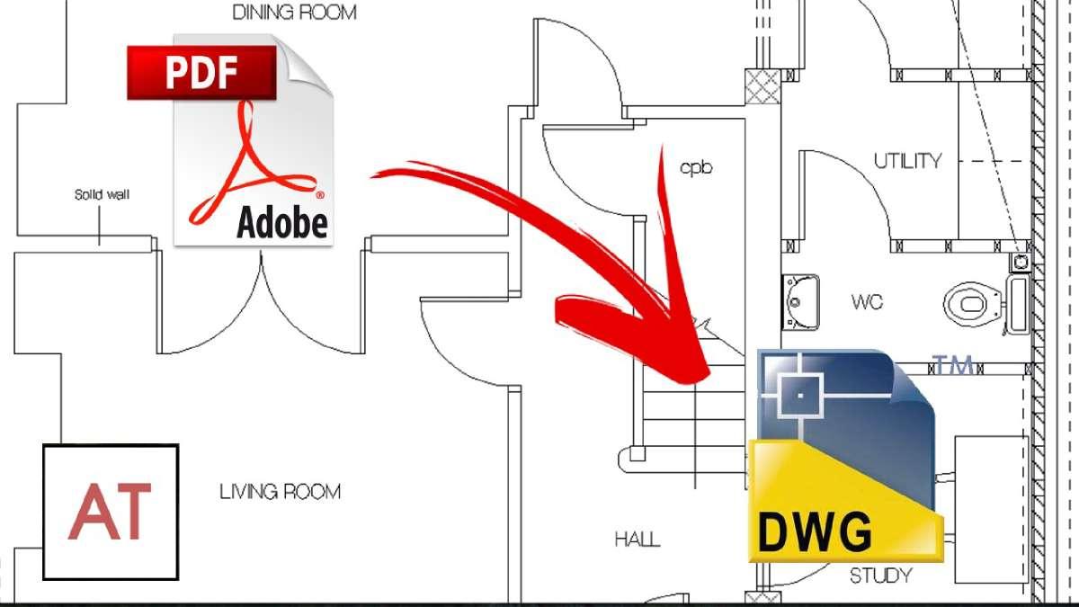 Ako ste mislili da je nemoguće konvertovati PDF u DWG, pogrešili ste!