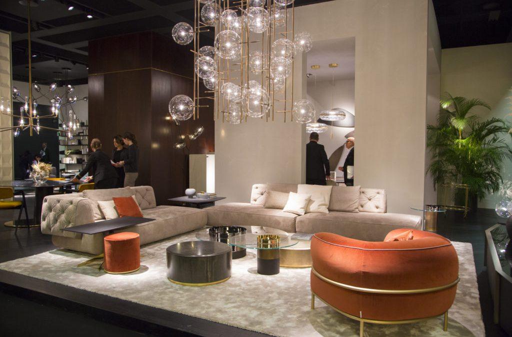 IMM 2019: Svi luduju za somotom, ovalnim stolovima i mid-century stilom