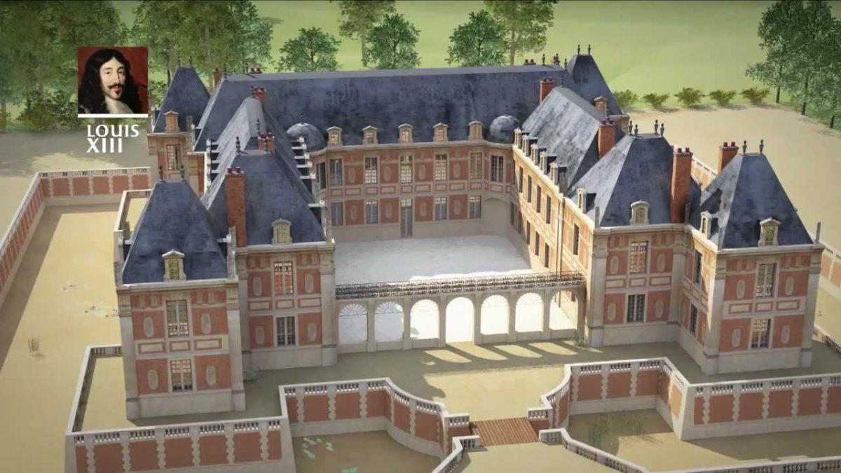 400 godina duge istorije razvoja Versajskog dvorca u 6 minuta