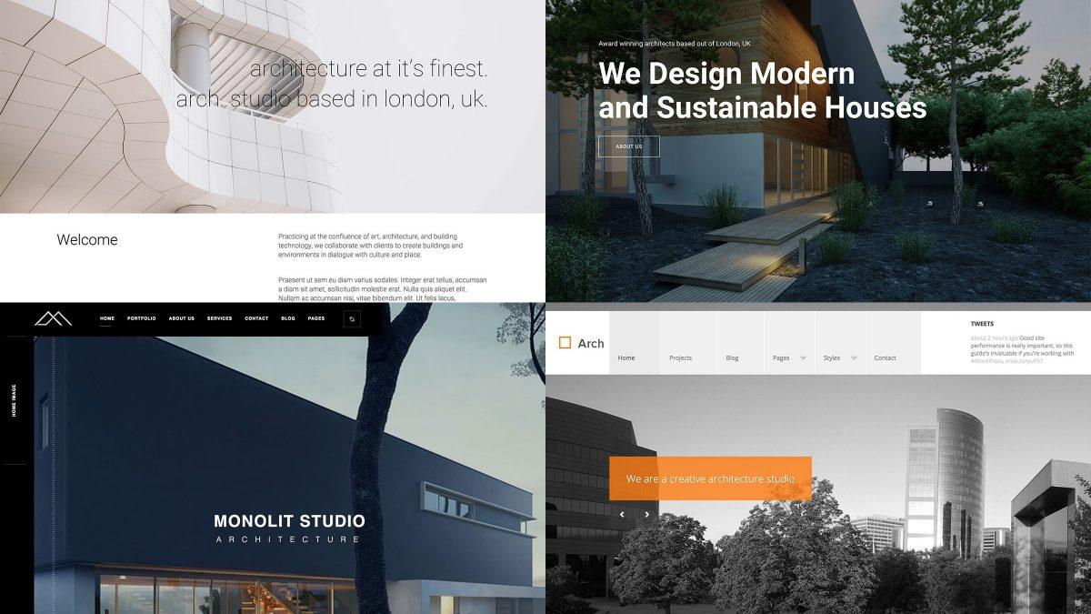10 najboljih WordPress tema za arhitekte