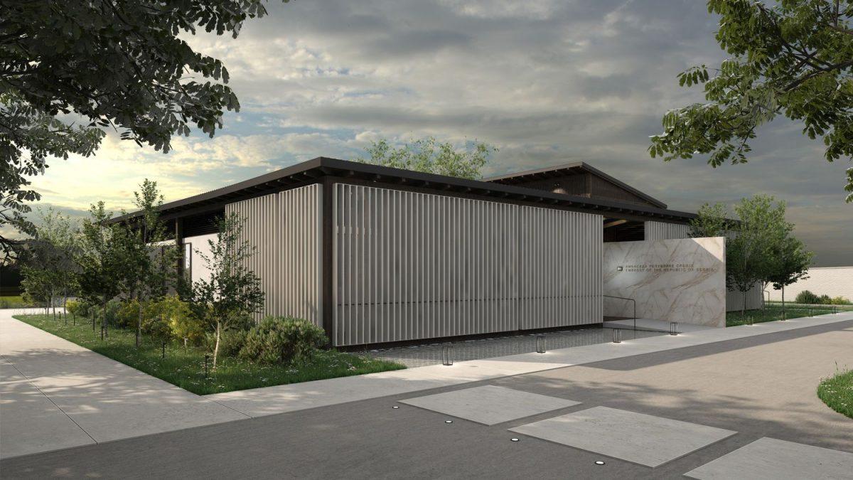 Ekskluzivno: Kako će izgledati Ambasada Republike Srbije u Kanberi