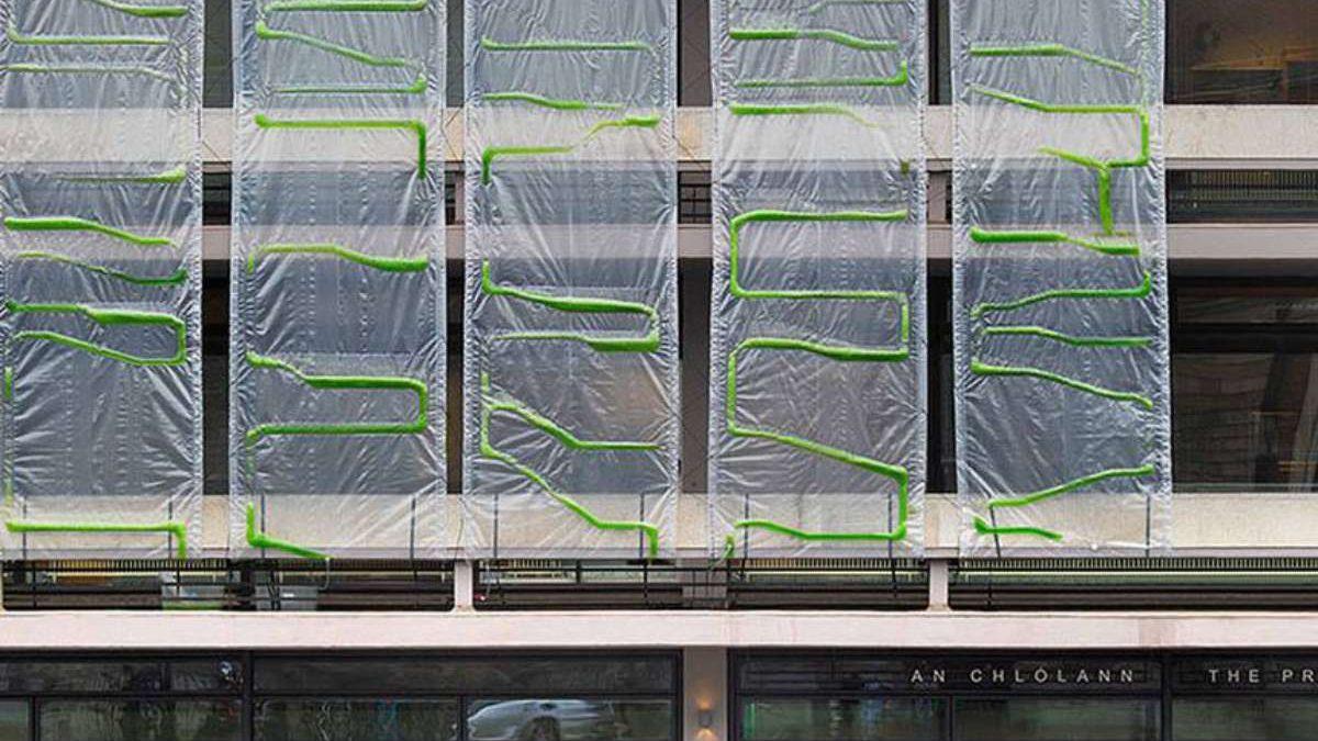 Ovi fasadni zastori od algi pretvaraju zagađen vazduh u kiseonik