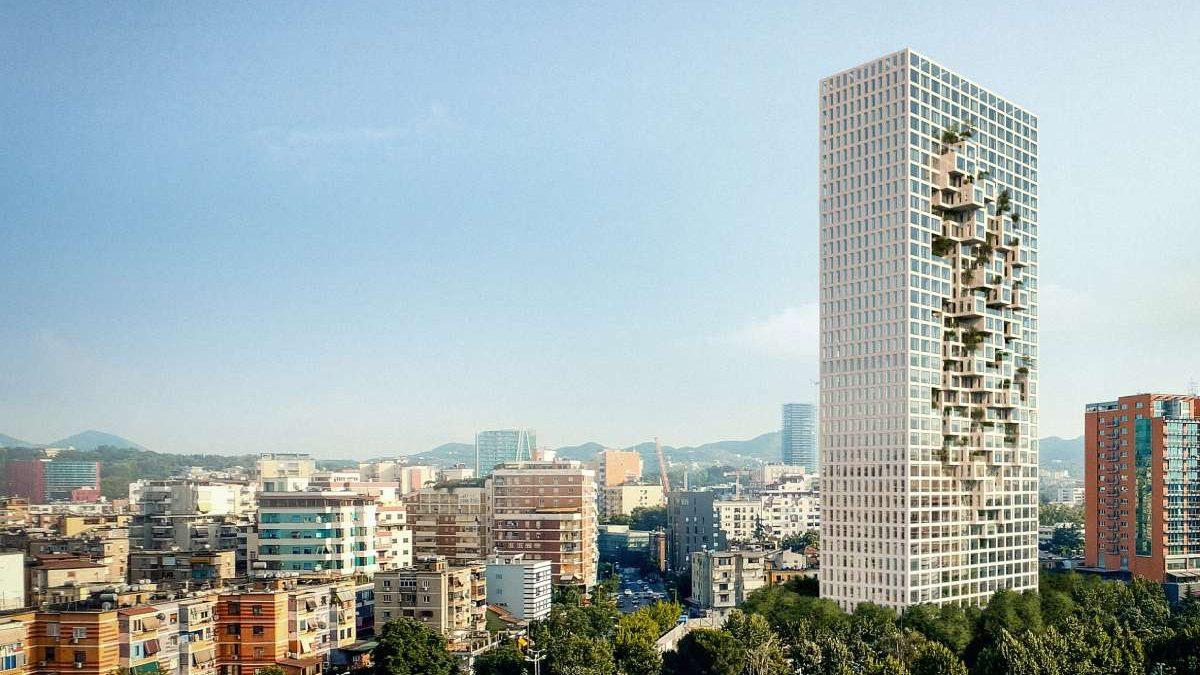 Čuveni MVRDV projektuje najvišu zgradu u Albaniji