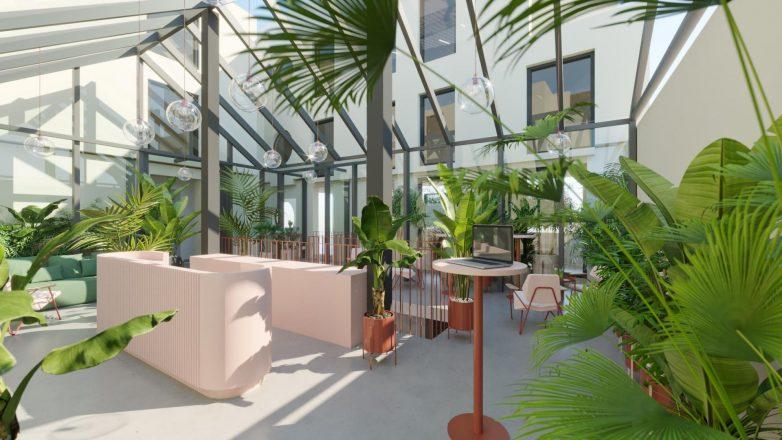 Prisustvo dekorativnih elemenata i zelenila značajna je dopuna. Renderi: Studio OBE