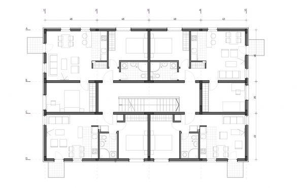 Tipska etaža objekta C
