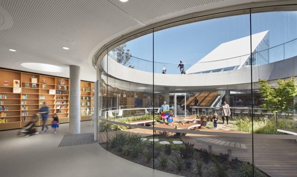 Nova biblioteka u Sidneju ukopana je u tlo i sakuplja kišnicu