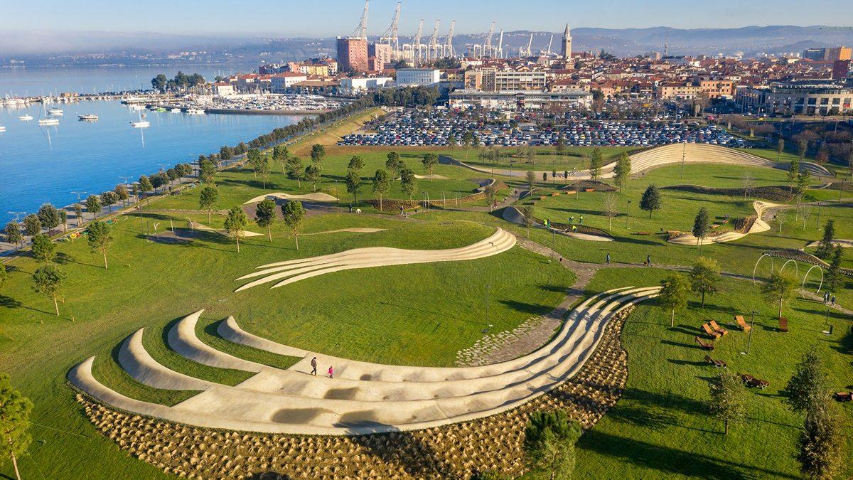 Enotin park u Kopru podstiče šetače na aktivno korišćenje prostora