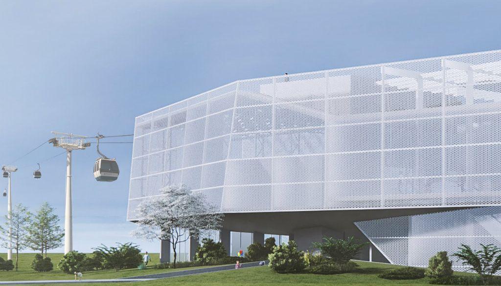 Čelik i zeleni krovovi: Ovako će izgledati beogradska gondola
