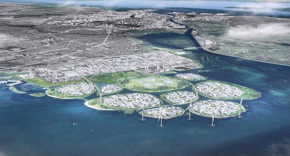 Kopenhagen gradi 9 novih ostrva koje će generisati obnovljivu energiju