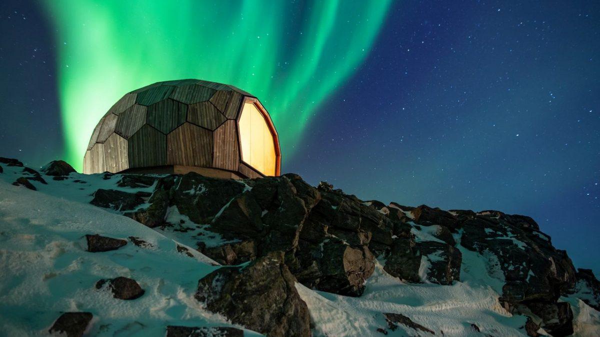 Minijaturni planinarski dom u Norveškoj sastavlja se poput 3D slagalice