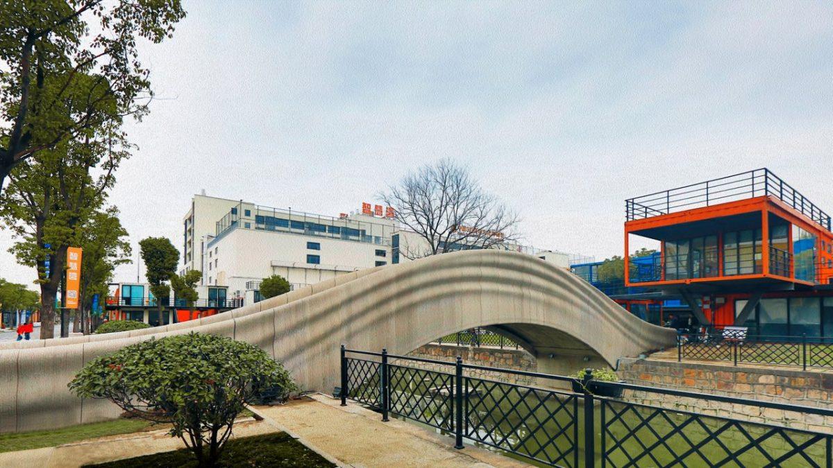 Bez oplate i armature: Ovako izgleda najduži 3D štampani most od betona