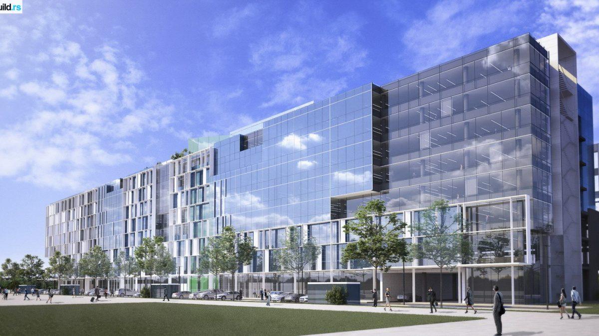 Kako će izgledati poslovni centar NCR u bloku 42 na Novom Beogradu