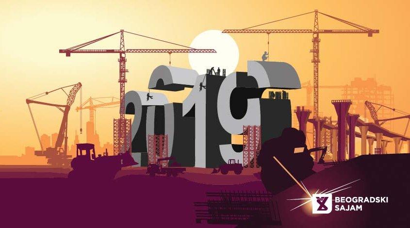 Sajam građevinarstva 2019. u Beogradu od 17. do 20. aprila