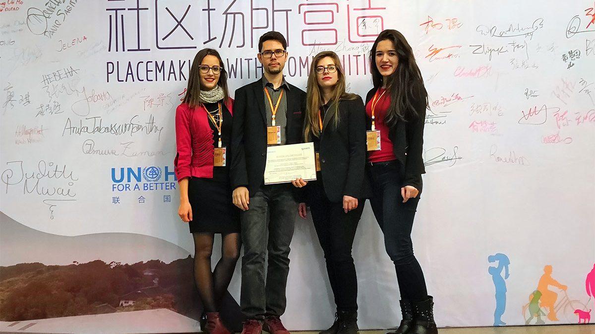 Veliki uspeh naših studenata na urbanističkom konkursu u Kini