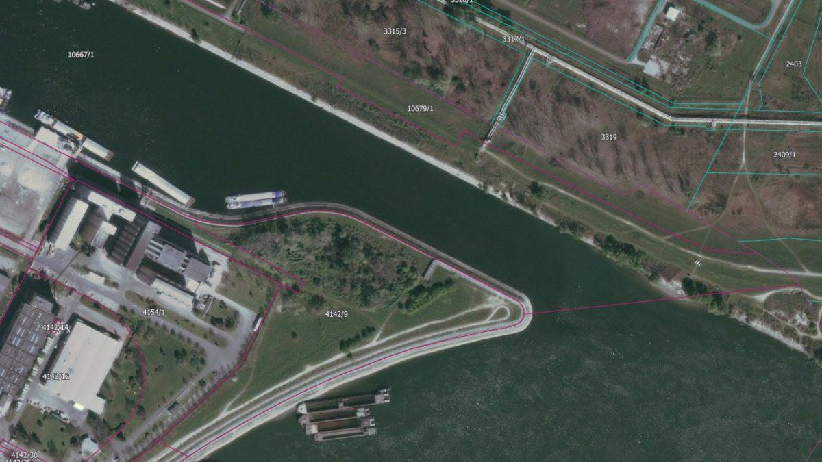 Raspisan konkurs za pešački most preko kanala DTD u Novom Sadu