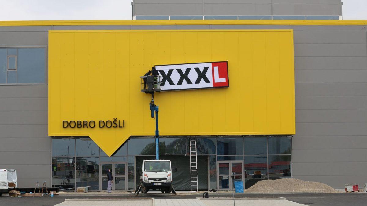 Zavirili smo u gradilište Lesnine XXXL u Novom Sadu