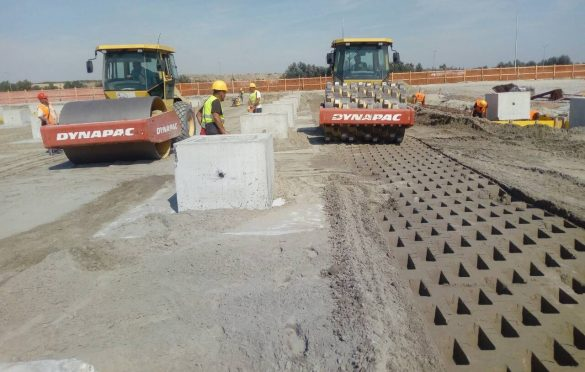 Ojačavanje tla; Foto: Axis
