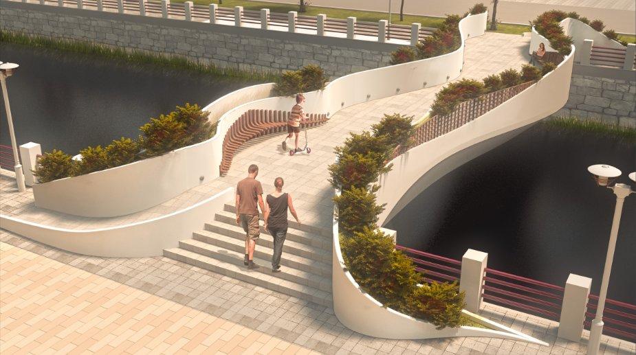 Ovako bi mogao da izgleda novi pešački most u Knjaževcu