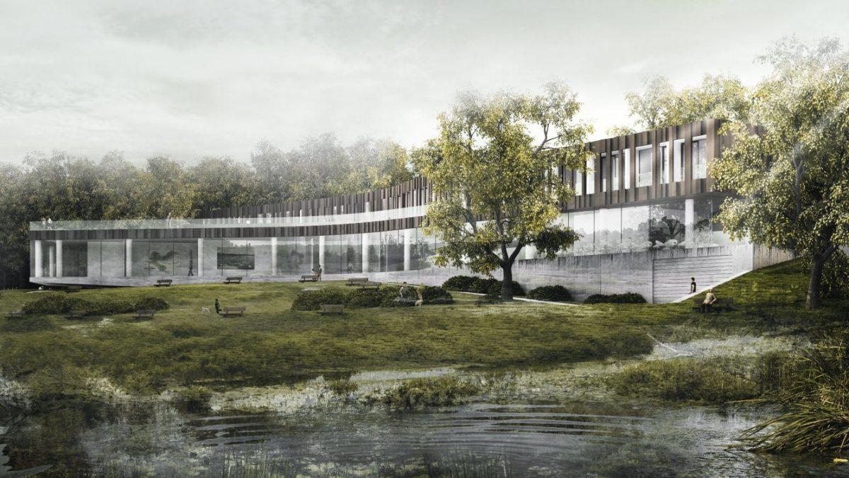 Kako će izgledati centar za posetioce na Obedskoj bari