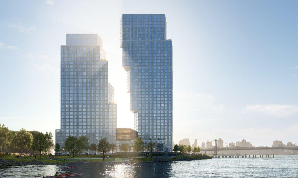 Fasada na Tetris zgradi pomera se u skladu sa suncem