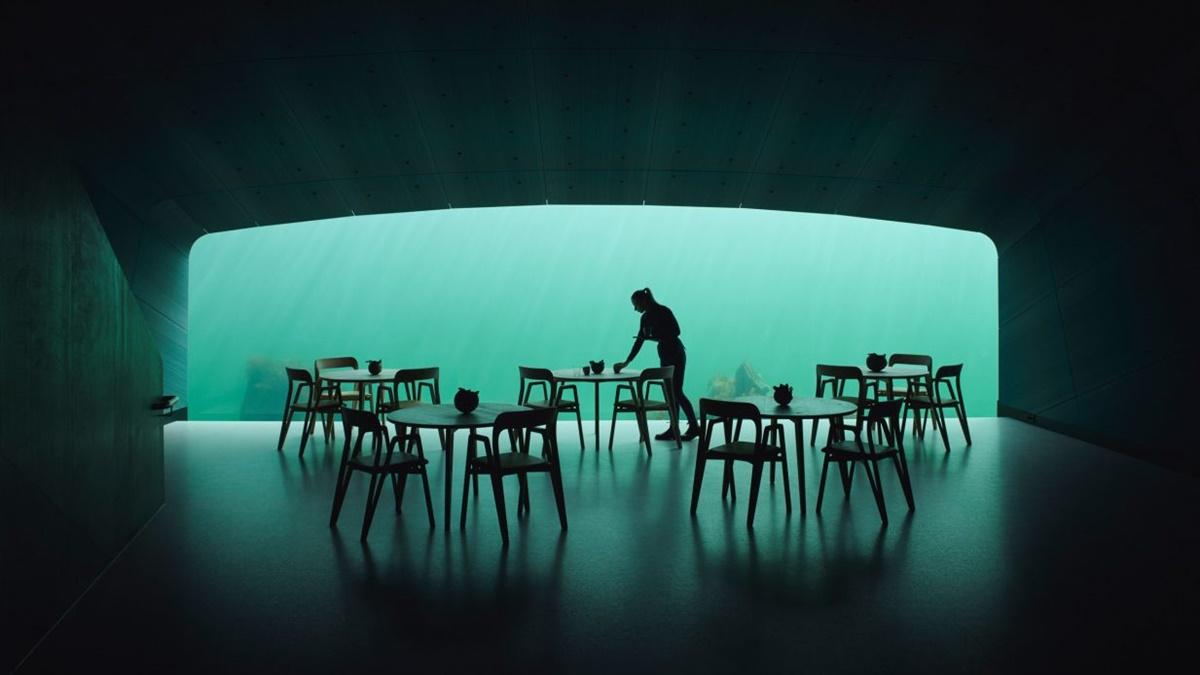 Pogledajte kako izgleda prvi podvodni restoran u Norveškoj