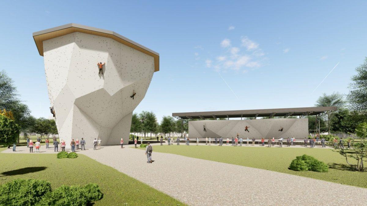 Kako će izgledati stena za penjanje i nova dvorana na Košutnjaku