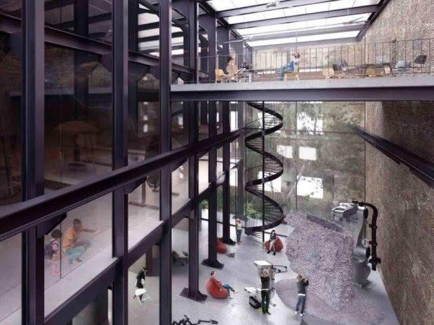 Nove slike projekta rekonstrukcije, nepoznat autor
