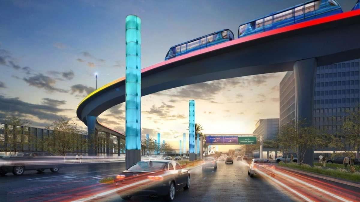 Kako izgledaju autonomni vozovi koji će povezati aerodrom u Los Anđelesu