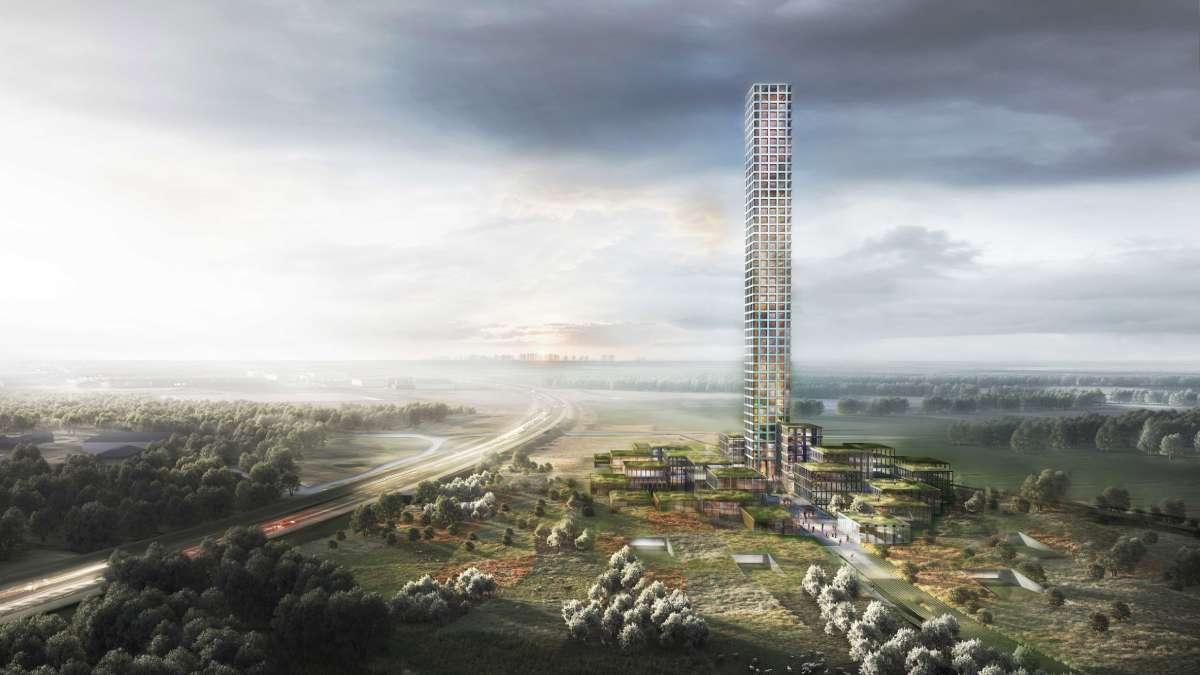 Gradi se najviša zgrada Zapadne Evrope u gradu od samo 7.000 stanovnika