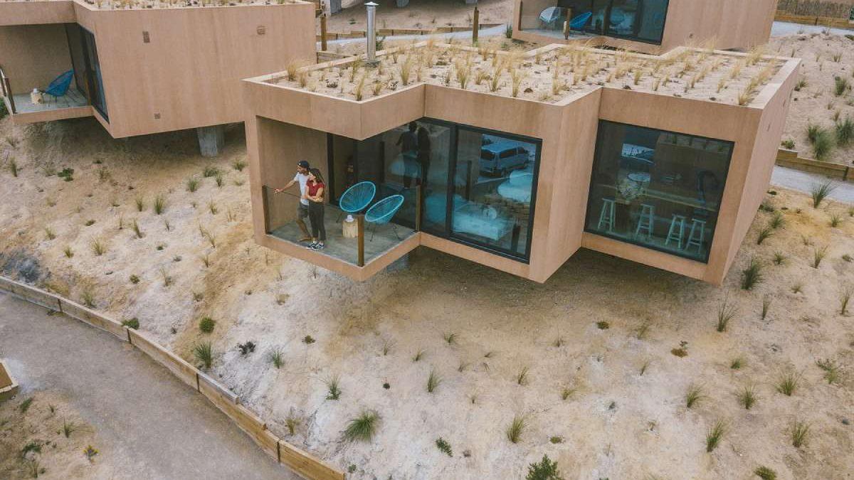 Ovaj ekološki hotel s organskom baštom na krovu potpuno je energetski nezavisan