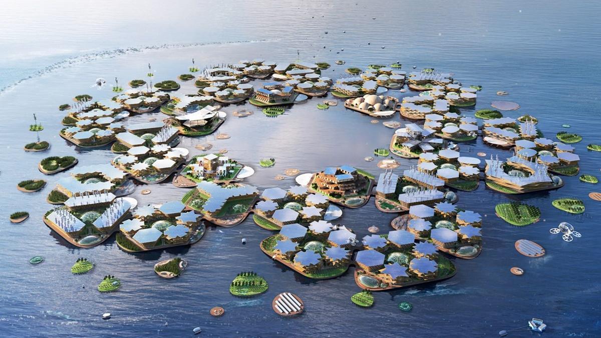Zbog podizanja nivoa mora uskoro ćemo živeti na plutajućim seocima?