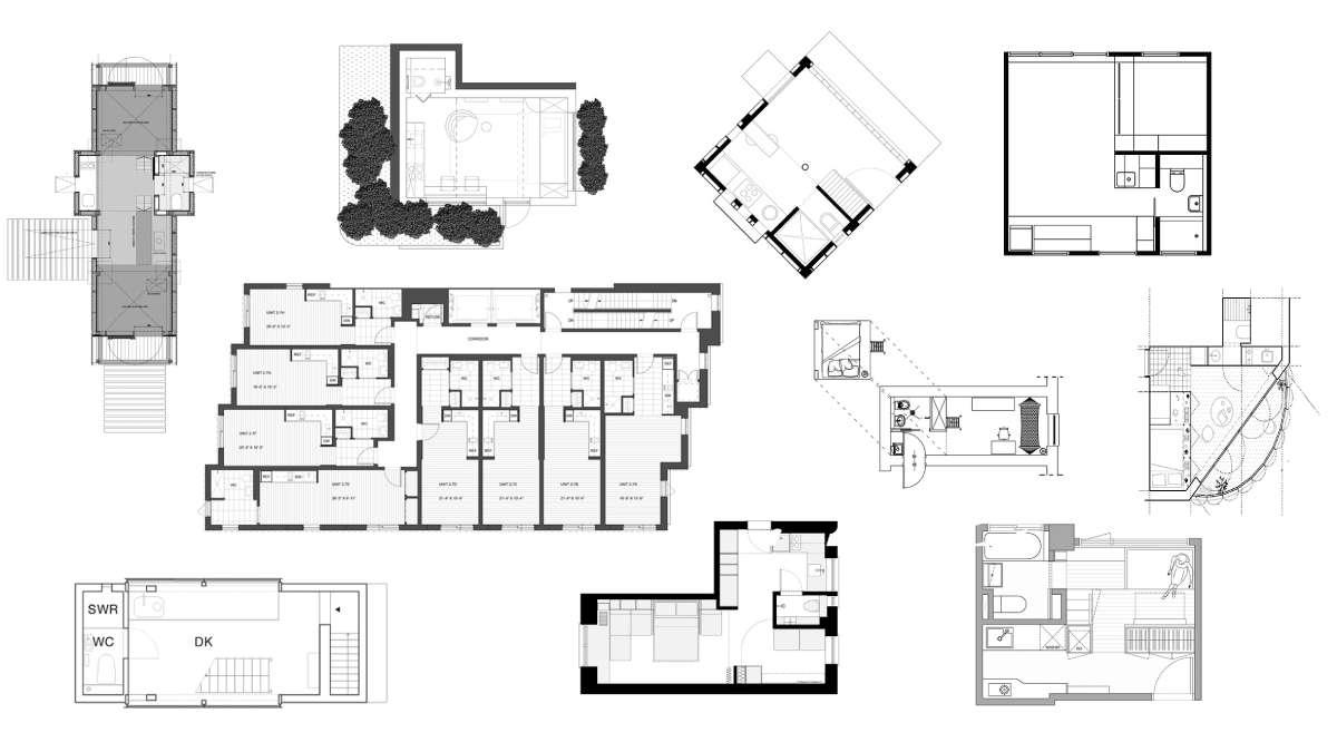 10 osnova malih stanova i kuća kao inspiracija za sledeći projekat