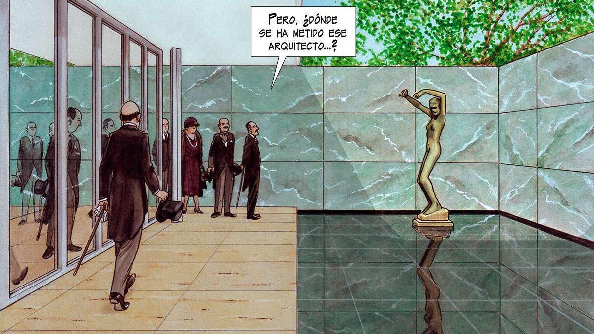 Strip o čuvenom Misu van der Roeu