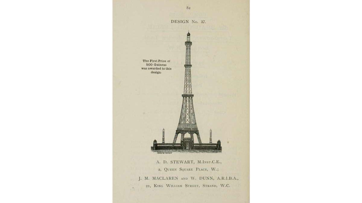 Londonska verzija Ajfelovog tornja koja je sravnjena sa zemljom