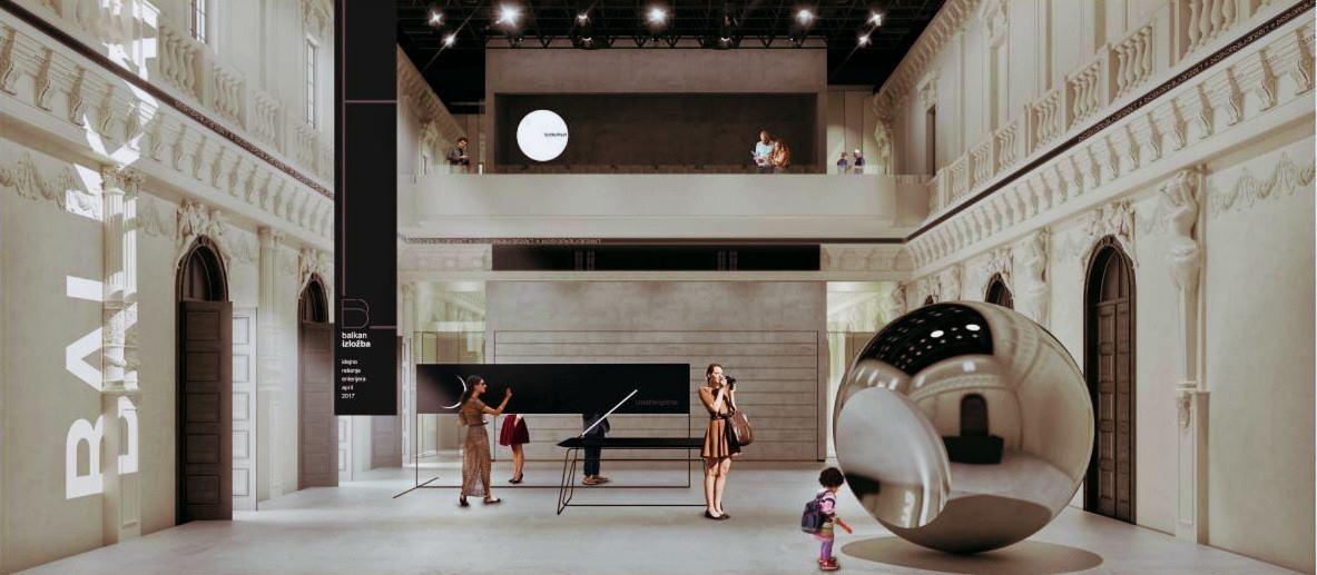 Projekat rekonstrukcije bioskopa Balkan 2020