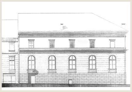 Izgled fasade starog objekta; Foto: Zavod za zaštitu spomenika kulture
