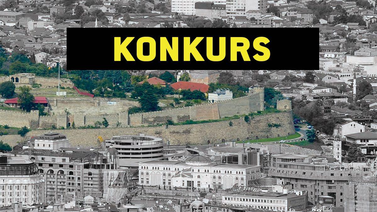 Konkurs za idejno rešenje uređenja brda Kale u Skoplju