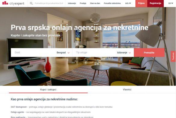 City Expert je prva domaća onlajn agencija za nekretnine