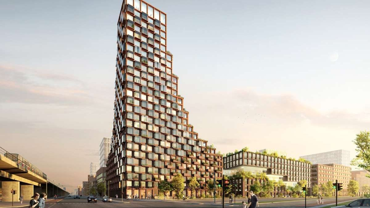 Hoće li ovo biti prvi neboder izgrađen od recikliranih materijala?