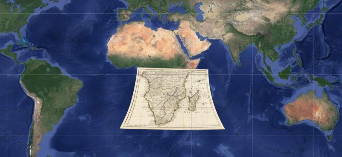 Istražujte razvoj urbanizma preko starih mapa na Google Mapsu