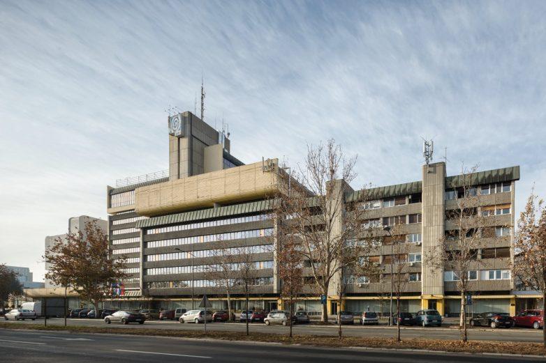 Zgrada Elektrovojvodine u Novom Sadu po projektu arhitekte Milana Matovića; Foto: Relja Ivanić