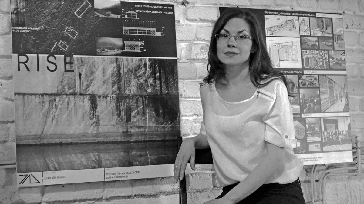 Jovana Simović: Arhitekturu doživljavam kao okamenjenu muziku