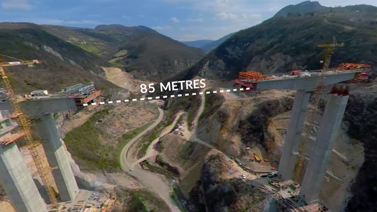 Jedan od najvećih građevinskih projekata u istoriji Bosne u 360 stepeni
