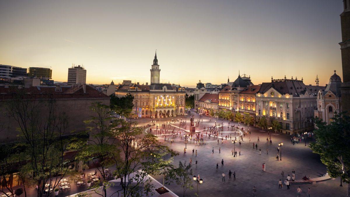Kako je švedski arhitekta zamislio budući izgled Trga slobode u Novom Sadu